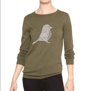 Banana Republic Factory Instaria Bird Sweater
